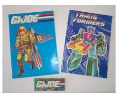 katalogy G.I. JOE a Transformers z 90. let