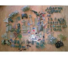 Figurky vojáčků + příslušenství