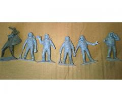 Figurky kosmonautů