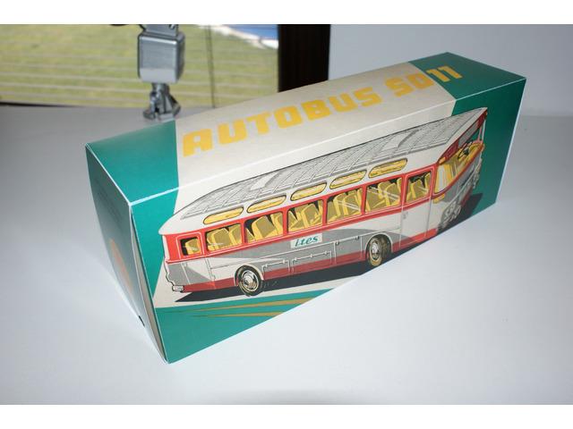 Krabička Ites Autobus ŠD11 - sběratelská replika