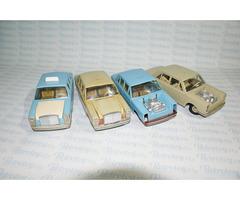 5x Mercedes 250 Ites - stará česká hračky