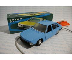 ITES Tatra 613 Special - modrá - stará česká hračka