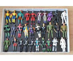 Sbírka figurek G.I.JOE - Hasbro bojovníci