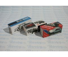 Krabička miniauto ŠKODA 110L, 120LS nebo Favorit sběratelská replika