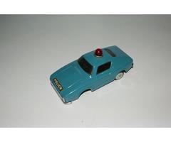 Plechové auto Policie nekompletní