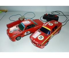 2x BMW 3.0 CSL Mehanotehnika Alpina - staré hračky