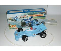 Formule F1 Tyrrell Ites stará česká hračka