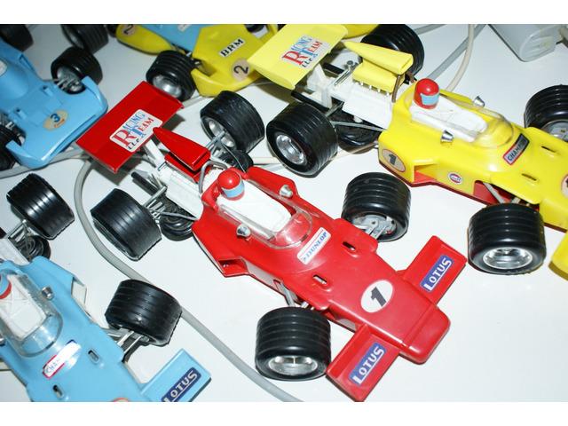 Sbírka 7x Formule F1 Ites - staré české hračky