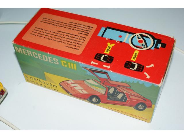 Mercedes C 111 Ites s orig. krabicí česká hračka
